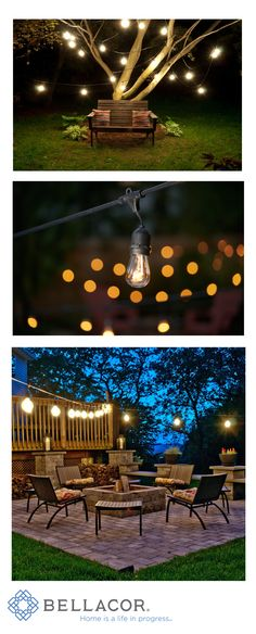 Bulbrites stylish string light fixture is the perfect way to enhance any outdoor landscape. This 48 foot string is UL listed for outdoor use and features 15 medium (E26) base sockets. http://www.bellacor.com/productdetail/bulbrite-810002-black-48-foot-15-light-outdoor-string-light-with-incandescent-11s14-bulbs-1038997.htm?partid=social_pinterestad_1038997