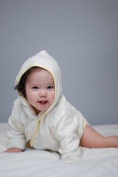 Cute little Bamboo Baby Beach Robe = Original Baby Shower Gift!