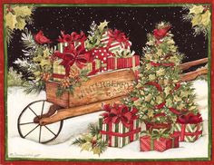 Christmas Delivery Christmas Cards , 1004692   Lang