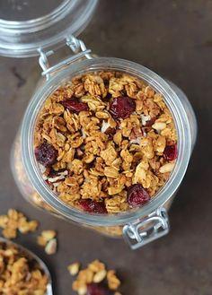 Spoonful of Flour: Pumpkin Spice Granola