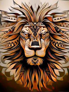 Lion Head Tattoos, Leo Tattoos, Body Art Tattoos, Tribal Tattoos, Tattoos For Guys, Tattoos Skull, Maori Tattoos, Lion Tattoo Sleeves, Sleeve Tattoos