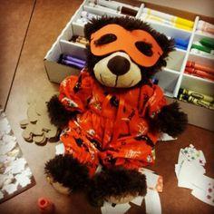 Graham in his Halloween Costume!