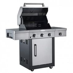 Bon-fire 3 Burner Gas BBQ Grill by Bouf