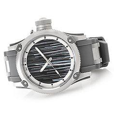 Invicta 52mm Russian Diver Artist Series Silicone Strap Watch