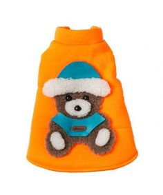 Little Bear Fluorescent Christmas Jacket - Orange