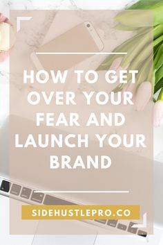 You have an idea for a business, but you're worried about what other people will think. Here's the ultimate action guide to get over your fear of putting yourself out there and launch your brand.