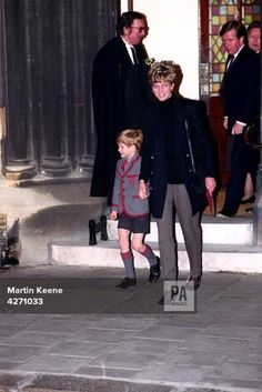 The Princess of Wales and Prince Harry