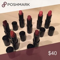 Makeup Assorted colored lipsticks. All brand new. Sold all together. Lancome Makeup Lipstick