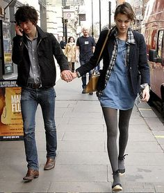 Alexa Chung and Alex Turner.