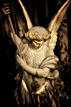 Angel Statue (Saint Michael)