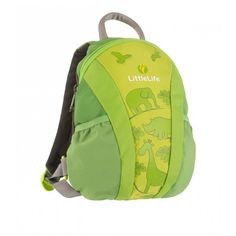 LittleLife Runabout Toddler Daysack Green - As toddlers gain their independence, they'll love taking their own treasures with them in this Runa Kids And Parenting, Gym Bag, Backpacks, Green, Bags, Stuff To Buy, Organizers, Canada, Free Shipping
