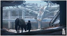 The Last Of Us - Left Behind - concept art by Sweeney