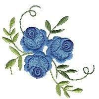 Petite Rose #Embroidery Design