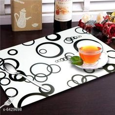 Table Cover Himanshi Set of 6 Dining Table Place Mats  Material: PVC Pack Of: Pack Of 6 Pattern: Printed Sizes:  Free Size (Length Size: 44 cm Width Size: 1 cm Height Size: 29 cm) Country of Origin: India Sizes Available: Free Size   Catalog Rating: ★4.2 (468)  Catalog Name: Fancy Table Cover CatalogID_1022896 C129-SC1637 Code: 991-6429698-993