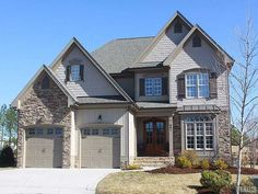 Arched Carriage Garage Doors W/ Iron Strap Hinges, Double Arched Door  Entry,. Wake Forest ...