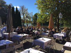 New  Seehaus Restaurant in Munich