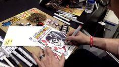 Vidéo Dessin Harley Quinn par Mark Brooks