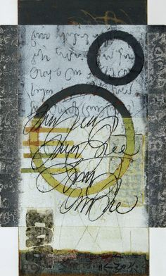 """Call for Calm, Anne Moore, monotype, 15""""x 9"""""""