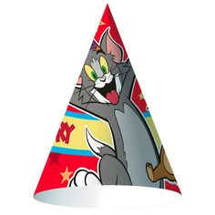 Tom and Jerry Cone Hats