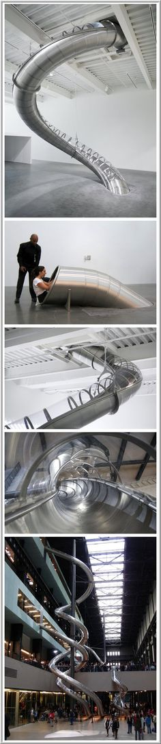 The Office Slide // Is this for real? How do we persuade management into getting one of these, @Ros New?