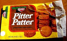Keebler Pitter Patter cookies (1971) I had forgoten about these... they were SOO good... probably good thing they don't make them anymore... lol