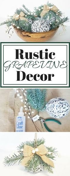 How to Make Rustic G