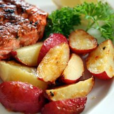 """Garlic Red Potatoes 