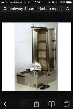 Archway 4 burner gas Kebab grill £625 plus var