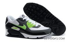 finest selection dab65 416c0 Nike Air Max 90 Mens White Black Green Training Shoes TopDeals, Price    78.51 - Adidas Shoes,Adidas Nmd,Superstar,Originals