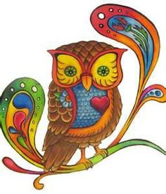 Retro Owl Cross Stitch Pattern PDF by lisalskinner on Etsy, $3.75