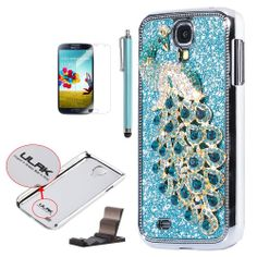 3D Bling Crystal Rhinestone Magnetic Flip Case Cover For Samsung Galaxy S4 | Price:$9.99