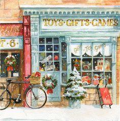 Мобильный LiveInternet Зимне-праздничное... замечательные картины Jim Mitchell | Tanita_Cat - Дневник Тианы |