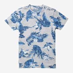 Yarn Spun Heather Printed Tee | Bonobos
