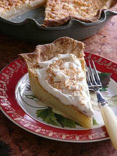Thibeault's Table: Mae Dawson's Hoosier Sugar Cream Pie