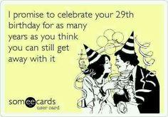 I promise....happy birthday