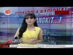 "Hot Sexy Putri Viola ""Presenter Hot"" Baju Kuning Ketat Padat di Kabar Ar..."