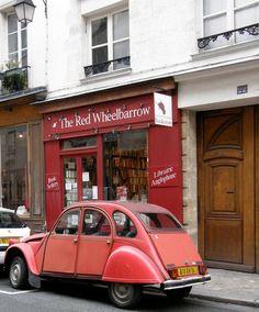 The Red Wheelbarrow bookstore