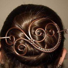 Hair clips design.