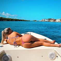 Enjoying the view at the bow of the boat, on open water on a sunny afternoon. Sunny Afternoon, Open Water, Water Crafts, Bikinis, Swimwear, Sailing, Boat, Life, Beautiful