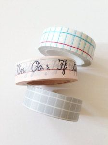 Teacher gift washi tape Perfect gift for teachers lined paper, graph grid, handwriting alphabet - choose from the selector. Washi masking tape will be Washi Tape Crafts, Washi Tapes, Planner 2018, Handwriting Alphabet, Handwriting Ideas, Cute School Supplies, Office Supplies, Art Supplies, Stationary Supplies