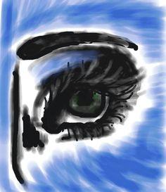 #Eye #Sketch by Seska on #Colorized