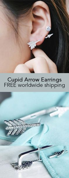 Cupid Arrow Earrings
