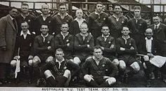 The Kangaroos for the 1st Test, 1929. The 1929–30 Kangaroo tour of Great Britain was the fourth Kangaroo tour, and took the Australia national rugby league team all around England and also into Wales. The tour also featured the ninth Ashes series which comprised four Test matches and was won by Great Britain. The team sailed on the SS Orsova via the Panama Canal and played an exhibition game in New York before arriving in England.