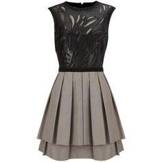Stained Glass Sequin Tut Dress K080E$148