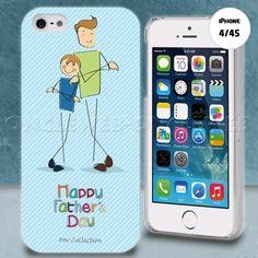 Coque iphone 4 pere et fils sur www.etui-iphone.com #etui #iphone4 #cuir beau cadeau pour la fête des pères