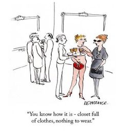 Nothing to wear !