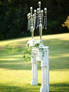 Wedding Altar and Aisle Decor | Entertaining - DIY Party Ideas, Recipes, Wedding & Baby Showers | DIY