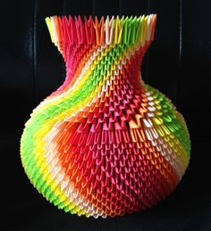 Hey, I found this really awesome Etsy listing at https://www.etsy.com/listing/173921698/3d-origami-vase