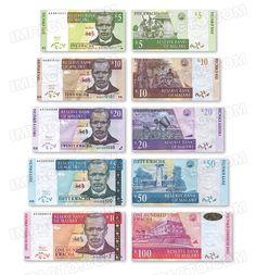 MALAWI, set of 5 banknotes