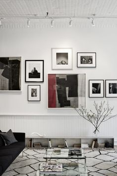 Gallery wall | The Apartment by the Line
